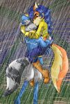 Desperate Rain Kiss by Moon-Shyne