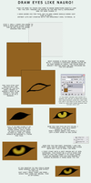 Eye Tutorial by NauroK