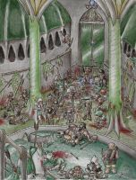 The Ruin of Doriath by Afalstein