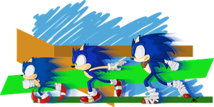 The Trio Sonic by KCampbell499