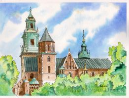 Wawel - Cracow by Dusty-Feather