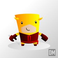 Daredevil Yellow Costume by DanielMead