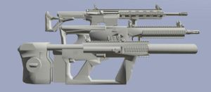 Weapons composite image by EricJ562