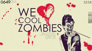 Rainmeter + Zombie Love (Feb 2015) by My-Scifi-Lullaby