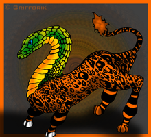 Q is for Questing Beast by Grifforik