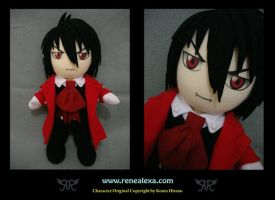 Alucard Plushie by renealexa-plushie