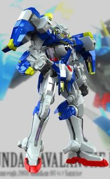 Gundam Avalanche Exia by nahumreigh