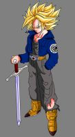Super Saiyan Trunks by OriginalSuperSaiyan