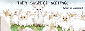 They suspect nothing - design for a mug by VanRah