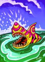 Colorfull Jaws by eldeivi