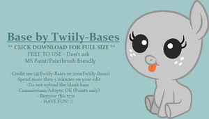MLP Base 53 [Remake] by Twiily-Bases