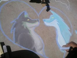 Chalk-Love by chloerosewolf