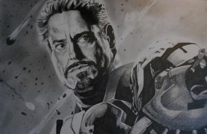 Another view of Iron Man by BevF