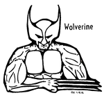 Wolverine: Black and White by RegularWolvie