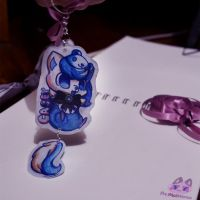 :Casey Keychain: by PrePAWSterous