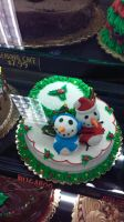 snowing cake by dottypurrs