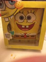 Spongebob Squarpaints  Birthday Cake by extraphotos