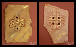 Celtic Carvings by Nefthys