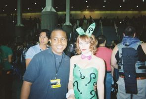 Me and The Riddler Bunny Girl by coreybrown1994