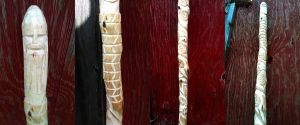 Two Tone Stained and Carved by flytier