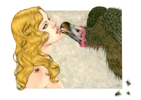 The Kiss Of Vulture by Zoe-Lacchei