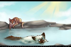 Sealpaw's 1st Hunt by Lionstrikewhiskers