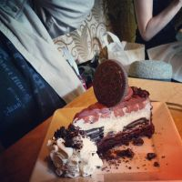 An incredible Oreo cheesecake  by 8TeamFriends8