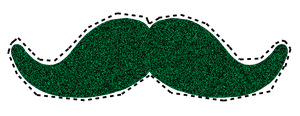 Moustache png! by FiorellaRios1