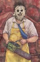 Texas Chainsaw Massacre Leatherface by ChrisOzFulton
