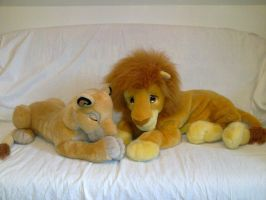 Lion King Simba and Sarabi by Frieda15