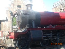 The Hogwarts Express from HP by xbeachgirl13