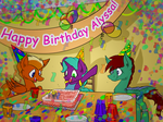 Commission 15: Alyssa's Birthday by DILeak