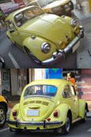 Yellow old Bug by gupa507