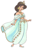 Disney Glamour 1992 Jasmine by Sil-Coke