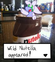 Wild Nutella appeared by VulpineKeyblader