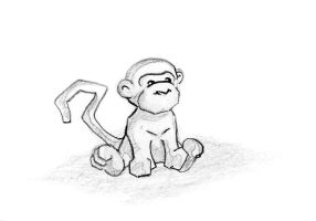 the Monkey by yzarc