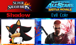 Shadow vs Evil Cole by SonicPal