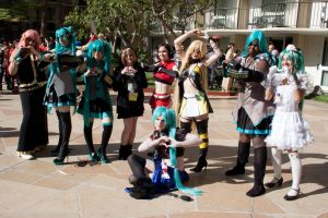 ALA Vocaloid Gathering 2014 Group Shot 4 by EriTesPhoto