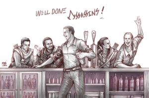 Well done Assassins!! by moto0207