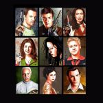 Firefly: the Verse main cast artwork by Dr-Horrible