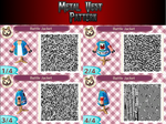 Animal Crossing Clothing Pattern- Battle Jacket by MarioLuigi96