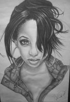 Ciara Drawing by desiangel1