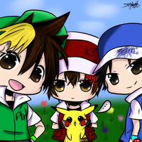 Chan, Tommy and MasterJam by chibirockshooter