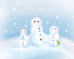 Little Snow Family by ColdEnigma
