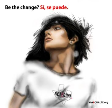 Be the Change? Si se puede. by Aiizaku