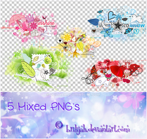 Mixed PNG's by Brilijah