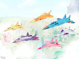 Equestia Air Force by alexey29