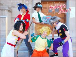Beyblade's Back by Glay