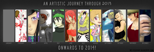 2013 Art Summary by bayobayo