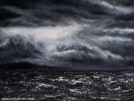 Storm At Sea by emilyjhorner